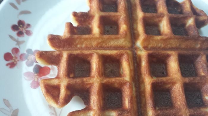 Hot and Crispy Waffles 2